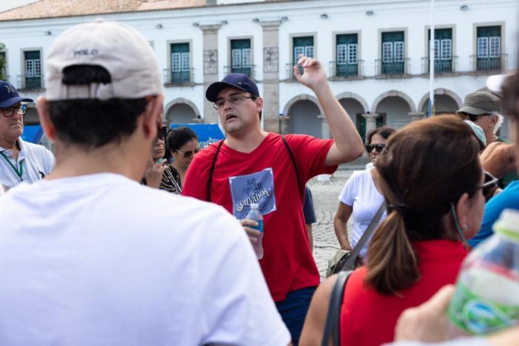 Luciano resolveu compartilhar sua paixão por Salvador com a página