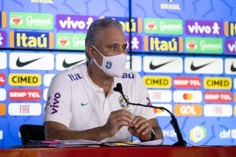 A Conmebol afirmou que não vai se pronunciar sobre a declaração do treinado | Foto: Lucas Figueiredo | CBF - Foto: Lucas Figueiredo | CBF