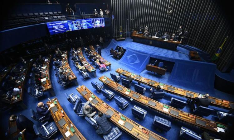 Em requerimento, senadores pediram ainda outras informações sobre o estoque de medicamentos usados em pacientes da Covid-19 - Foto: Marcos Oliveira | Agência Senado