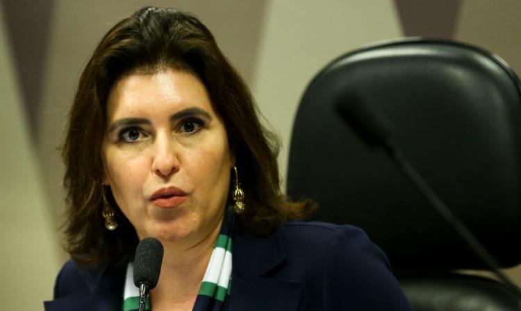 Senadora Simone Tebet será indicada a primeira líder da bancada | Foto: Marcelo Camargo | Agência Brasil - Foto: Marcelo Camargo | Agência Brasil