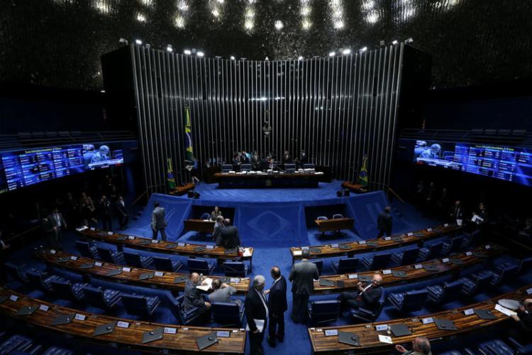 Com 62 votos favoráveis e 14 contrários, Senado aprovou nova rodada do pagamento do auxílio emergencial - Foto: Agência Brasil   Divulgação