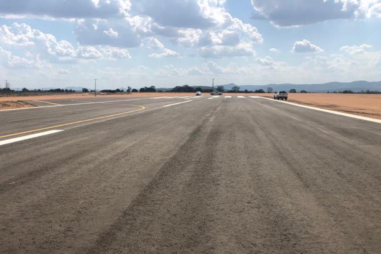 CONSTRUÇÃO DO TERMINAL DE EMBARQUE E DESEMBARQUE NO AEROPORTO DE BONFIM