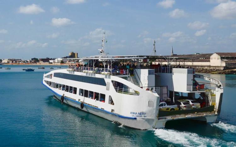 No próximo final de semana de março, sábado, 28 e domingo, 29, o sistema Ferry-Boat não vai funcionar I Foto: Divulgação - Foto: Divulgação