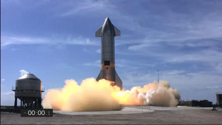 A empresa esperava conseguir completar um voo de teste com sucesso depois que as últimas três tentativas terminaram em explosões espetaculares | Foto: SpaceX | AFP - Foto: SpaceX | AFP