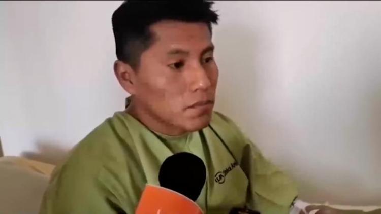 Erwin Tumiri, um dos sobreviventes do voo da LaMia, escapou com vida de acidente de ônibus na Bolívia I Foto: Reprodução - Foto: Reprodução