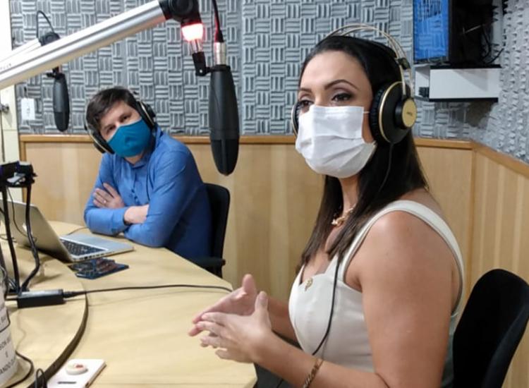 Diretora geral da Fundação Paulo Jackson, Michele Gramacho participou do 'Isso é Bahia' | Foto: Rodrigo Tardio | Ag. A TARDE - Foto: Rodrigo Tardio | Ag. A TARDE