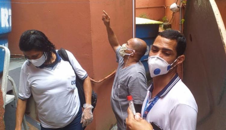 Agentes iniciam segunda semana no combate à dengue   Foto: Divulgação   Secom - Foto: Divulgação   Secom