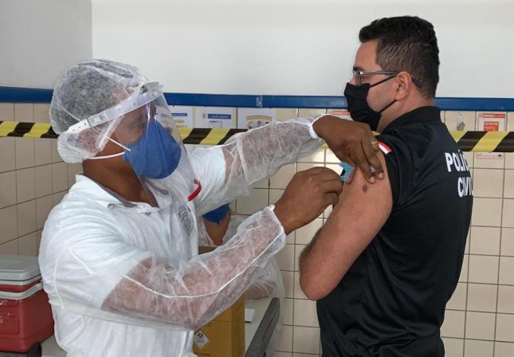 Forças de segurança e salvamento estão previstas no Programa Nacional de Imunização   Foto: Secom   GovBA - Foto: Secom   GovBA