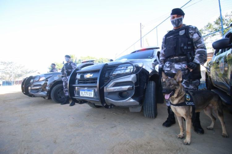 Cerca de 530 militares participarão da operação no bairro - Foto: Divulgação