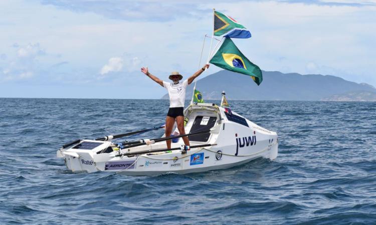 Zirk Botha veio da África do Sul ao Brasil em 70 dias | Foto: Divulgação | zirkbotha.co - Foto: Divulgação | zirkbotha.co