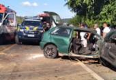 Acidente entre caminhão e carro deixa oito feridos na BR-330 | Foto: Reprodução | Jitaúna em Dia