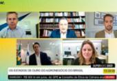 Rui participa de debate sobre panorama do agronegócio durante a pandemia | Foto: Reprodução