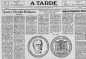 Cedoc guarda peça que recupera memória sobre artes gráficas | Foto: Arquivo A TARDE | 15.10.1952