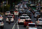 Trânsito está lento em pontos da capital baiana | Foto: Ag, A TARDE