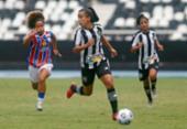 Bahia empata com o Botafogo na estreia do Brasileirão feminino | Foto: