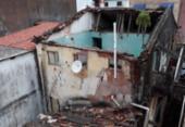 Parte de casarão desaba no bairro do Tororó; Defesa Civil vistoria estrutura | Foto: Divulgação | Codesal