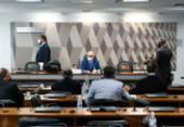 CPI da Covid avalia requerimentos para convocar filhos de Bolsonaro | Foto: Agência Senado