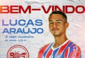 Bahia anuncia contratação de meia Lucas Araújo, ex-Grêmio | Foto: Divulgação | E.C.Bahia