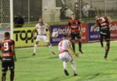 Vitória sai na frente, mas leva empate da Juazeirense pelo Baianão | Foto: Carlos Humberto | Agência CH