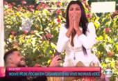 Após ser eliminada do BBB 21, Pocah é pedida em casamento ao vivo no 'Mais Você' | Foto: Reprodução | TV Globo