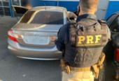 Foragido da justiça é preso na BR-324 com veículo roubado e CRLV falso | Foto: Divulgação | PRF