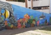 Loteamento Aquarius ganha espaço decorado com grafite | Foto: Reprodução | Redes Sociais