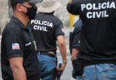 Homem é preso com drogas em imóvel no bairro de Vista Alegre | Foto: Haeckel Dias | Ascom PC