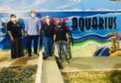 Loteamento Aquarius ganha espaço decorado com grafite | Foto: Beca Lima | Divulgação