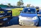 Trio suspeito de furtos e arrombamentos é preso na BR-116 | Foto: Divulgação | PRF