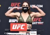 Brasileira extrapola limite de peso e luta no UFC é cancelada | Foto: