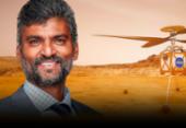 Engenheiro baiano de origem indiana desenvolve tecnologia para helicóptero que vai sobrevoar Marte | Foto: Divulgação