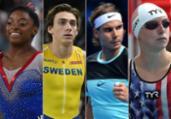 Biles, Duplantis... estrelas a 100 dias das Olimpíadas | AFP