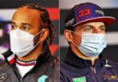 Hamilton e Verstappen fazem 'segundo round' na Itália   AFP