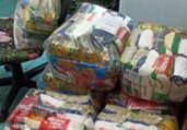 Prefeitura inicia distribuição de 20 mil cestas básicas   Divulgação