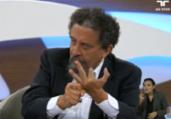 Ciro anuncia contratação do publicitário João Santana   Reprodução   TV Cultura