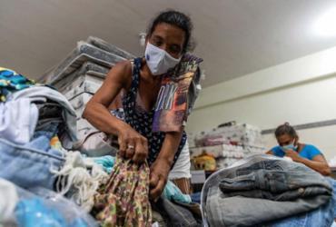 Com alerta de chuva, desabrigados necessitam de doações nos abrigos | Uendel Galter | Ag. A TARDE
