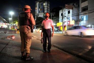 Toque de recolher é prorrogado até 3 de maio em 227 municípios da Bahia | Felipe Iruatã | Ag. A TARDE