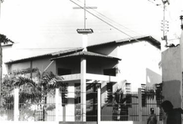 Jardim Cruzeiro abriga única igreja para São Jorge na capital baiana | Data: 22/04/1993. Foto: Aidalvo Reis | Cedoc A TARDE