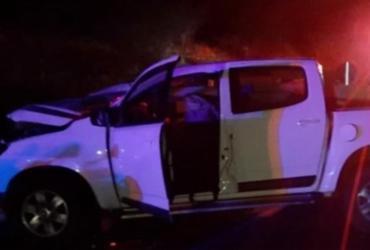 Nove pessoas ficam feridas em acidente com caminhonetes na BA-262