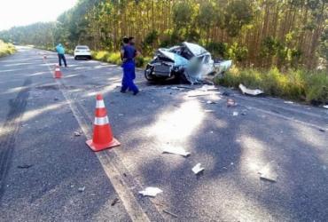 Funcionário da Coelba morre em acidente com caminhão na BA-275 | Reprodução | Radar 64