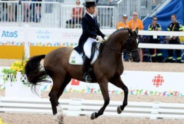 Atleta olímpico brasileiro é suspenso por maltratar cavalo   Reprodução I Lance