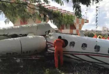 Piloto morre após avião de pequeno porte cair em Minas Gerais | Divulgação | Corpo de Bombeiros