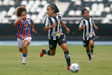 Bahia empata com o Botafogo na estreia do Brasileirão feminino |