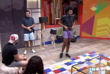 BBB21: João vence prova do Anjo e coloca Arthur e Pocah no monstro | Reprodução Globo
