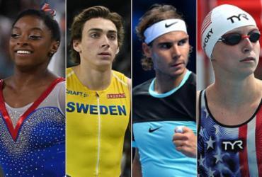 Biles, Duplantis, Nadal, Ledecky: estrelas a 100 dias dos Jogos Olímpicos | AFP