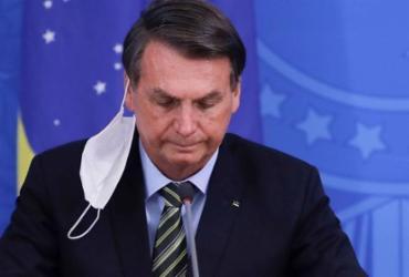 Bolsonaro pede em conversa com senador impeachment de ministros do STF | Sérgio Lima | AFP