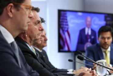 Bolsonaro promete fim das emissões de gases de efeito estufa até 2050   Marcos Corrêa   PR