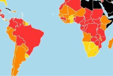 Brasil cai quatro posições em ranking de liberdade de imprensa e fica em zona vermelha | Reprodução