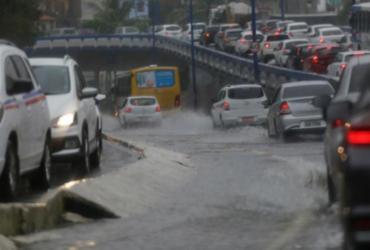 Intensificação de frente fria causa mais chuvas na tarde desta sexta em Salvador |