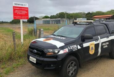Vigilante confessa furto de combustível após pane em avião de deputado na Bahia | Divulgação | Ascom PC